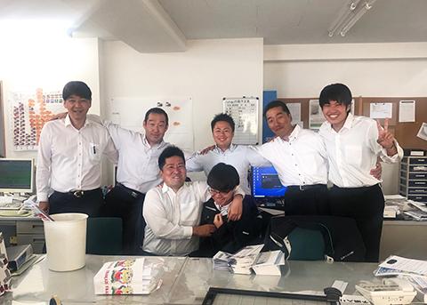 松山支店イメージ3 明るい松山支店ファミリー