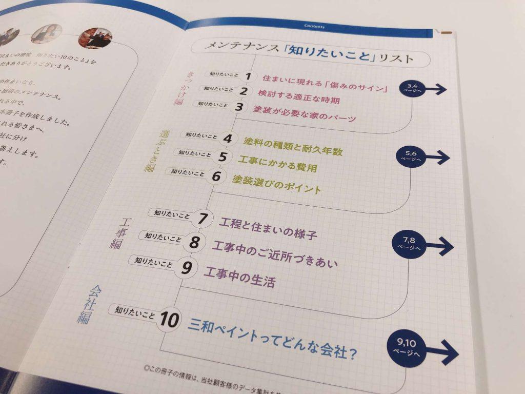 三和ペイントのアサカツ-住まいの塗装 知りたい10のこと制作秘話2