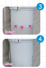 塗りムラ・段差を防ぎ、塗料を均一に塗り広げる